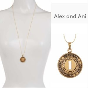 Alex & Ani Numerology Number 1 Charm Necklace
